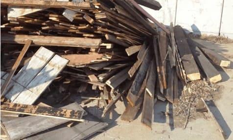 Außenholz (Sorte A4) - Neudeck Entsorgungsfachbetrieb