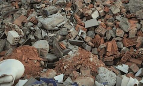 Bauschutt (nicht-recyclingfähig - Neudeck Entsorgungsfachbetrieb