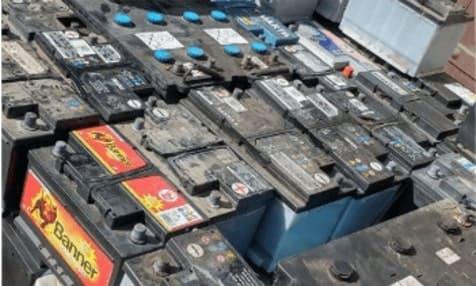 Bleibatterien - Neudeck Entsorgungsfachbetrieb